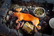 Polynesian Feast, Bora, Bora, French Polynesia, South Pacific