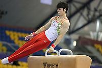 12th FIG Artistic Gymnastics World Cup Doha Qatar- Qualification (pommel horse, vault, uneven bars) 20th March 2019: