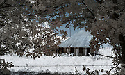 Pipe Creek, Texas, Infrared, Barn, landscape, Highway 16,