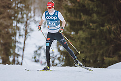 03.03.2021, Oberstdorf, GER, FIS Weltmeisterschaften Ski Nordisch, Oberstdorf 2021, Herren, Langlauf, 15 km Freestyle, im Bild Florian Notz (GER) // Florian Notz of Germany during men Cross Country 15 km freestyle competition of the FIS Nordic Ski World Championships 2021 in Oberstdorf, Germany on 2021/03/03. EXPA Pictures © 2021, PhotoCredit: EXPA/ Dominik Angerer