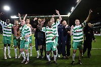 Photo: Rich Eaton.<br /> <br /> Nottingham Forest v Yeovil Town. Coca Cola League 1. Play off Semi Final 2nd Leg. 18/05/2007. Yeovil fans celebrate victory over Forest by 5-2