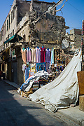 Cairo, Egypt, 2 aug 2018, clothes shop in the streets of Cairo