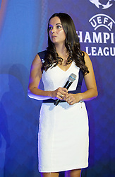 CARDIFF, WALES - Wednesday, August 31, 2016: Former Wales player Gwennan Harries during a gala dinner at the Cardiff Museum to launch the UEFA Champions League Finals 2017 to be held in Cardiff. (Pic by David Rawcliffe/Propaganda)