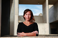 Kay Tye stands at the Salk Institute in La Jolla,CA on Thursday, July 29, 2021 in San Diego. (Sandy Huffaker/Howard Hughes Medical Institute 2021)