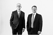 BIRMINGHAM, AL – MAY 6, 2019: Founding Principals Edmund Perry (left) and Preston Sartelle (right) of Rockbridge Advisors Group.