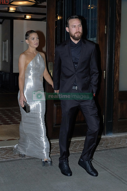 September 23, 2017 - New York, New York, United States - Actress Kate Hudson and her boyfriend Danny Fijikawa leave a downtown hotel on September 23 2017 in New York City  (Credit Image: © Curtis Means/Ace Pictures via ZUMA Press)