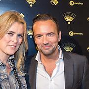 NLD/Amsterdam/20151111 - Uitreiking Radioring 2015, Gerard Ekdom en partner Nicole Smits