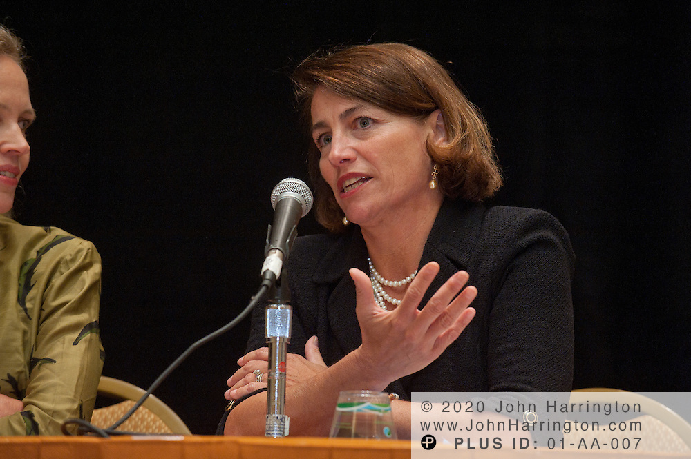 Judith Davis, EVP, Chief Legal Officer, BCBSSC speaks on a panel at the Women in Insurance Leadership Forum at the National Harbor in Maryland on September 18th, 2011.