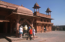 Fatehpur Sikri; ancient site near Agra; India,