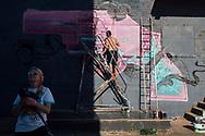 08.06.2019 Magdeburg, Soulwars, Aerosol-Arena.<br /> <br /> md2025.de<br /> offizielles Bild im 1. Bid-Book<br /> Bewerbung Magdeburgs zur Kulturhauptstadt 2025<br /> <br /> © Harald Krieg/Agentur Focus