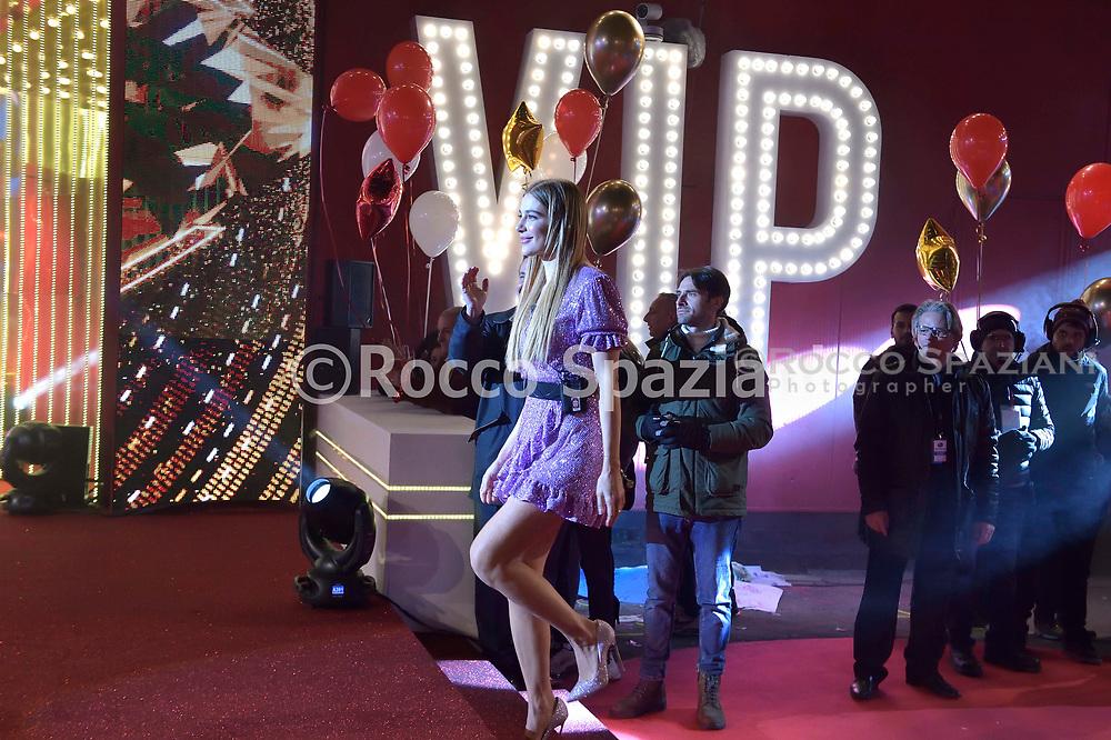 Licia Nunez concorrente della quarta edizione del Grande Fratello Vip 8 , Gennaio 2020 Roma