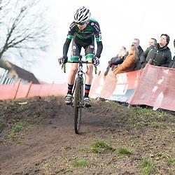 11-01-2020: Wielrennen: NK Veldrijden: Rucphen<br />Jerffey Zwart