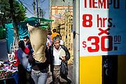 Mexico city, Mexico, Dec 02, 2010, Mexico streetscene. PHOTO © Christophe Vander Eecken