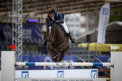 Philippaerts Nicola, BEL, H&M Quenzo de le Roque<br /> CSI 5* Prijs Loewe<br /> Jumping Antwerpen 2017<br /> © Hippo Foto - Dirk Caremans<br /> 21/04/2017