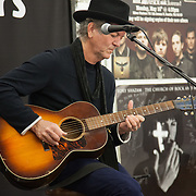 Rodney Crowell plays a intimate show to about 40 people in Silver Platers, Seattle, WA promoting his new album Tarpaper Sky on 3/31/2014
