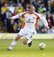 Photo: Jonathan Butler.<br /> Watford v Blackpool. Coca Cola Championship. 29/09/2007.<br /> Andy Morrell of Blackpool.