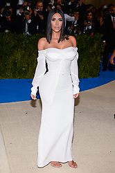 Kim Kardashian arriving at The Metropolitan Museum of Art Costume Institute Benefit celebrating the opening of Rei Kawakubo / Comme des Garcons : Art of the In-Between held at The Metropolitan Museum of Art  in New York, NY, on May 1, 2017. (Photo by Anthony Behar) *** Please Use Credit from Credit Field ***
