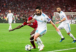 Sadio Mané of Liverpool vs Isco of Real Madrid during the UEFA Champions League final football match between Liverpool and Real Madrid at the Olympic Stadium in Kiev, Ukraine on May 26, 2018.Photo by Sandi Fiser / Sportida