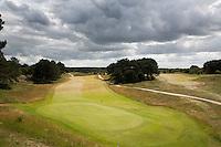 ZANDVOORT - Hole A 9 , Hengel Course, van de Kennemer Golf & Country Club. Deze hole wordt ook gebrukt tijdens het Dutch Open Golf (KLM OPEN) . COPYRIGHT KOEN SUYK Copyright Koen Suyk