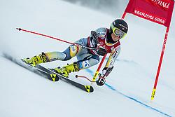 Kaja Norbye (NOR) during the Ladies' Giant Slalom at 57th Golden Fox event at Audi FIS Ski World Cup 2020/21, on January 16, 2021 in Podkoren, Kranjska Gora, Slovenia. Photo by Vid Ponikvar