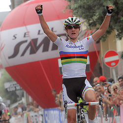 05-07-2014: Wielrennen: Giro d Italia vrouwen:
