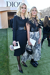 Chiara Ferragni and her sister Valentina Ferragni attend the Christian Dior Haute Couture Spring Summer 2019 show as part of Paris Fashion Week on January 21, 2019 in Paris, France. Photo by Laurent Zabulon/ABACAPRESS.COM