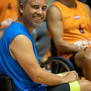 NLD/Rotterdam/20190706 - BN'ers spelen rolstoelbasketbal, Manuel Venderbos