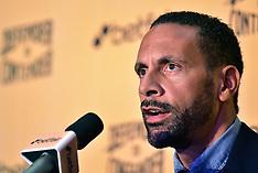 Rio Ferdinand Press Conference - 19 Sept 2017