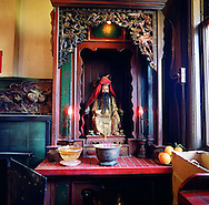 Tien Hau Temple in Chinatown is the oldest Chinese temple in San Francisco.