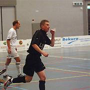 Zaalvoetbal, ZVV Hilversum - FC Marlene, Ruben van Veen