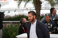 Tom Hardy at the Lawless film photocall at the 65th Cannes Film Festival. The screenplay for the film Lawless was written by Nick Cave and Directed by John Hillcoat. Saturday 19th May 2012 in Cannes Film Festival, France.