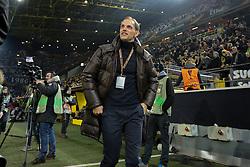 18.02.2016, Signal Iduna Stadion, Dortmund, GER, UEFA EL, Borussia Dortmund vs FC Porto, Sechzehntelfinale, Hinspiel, im Bild Thomas Tuchel (Trainer, Borussia Dortmund) laechelt // during the UEFA Europa League Round of 32, 1st Leg match between Borussia Dortmund and FC Porto at the Signal Iduna Stadion in Dortmund, Germany on 2016/02/18. EXPA Pictures © 2016, PhotoCredit: EXPA/ Eibner-Pressefoto/ Deutzmann<br /> <br /> *****ATTENTION - OUT of GER*****