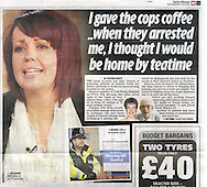 Nurse Rebecca Leighton / Daily Mirror 21st September 2011.