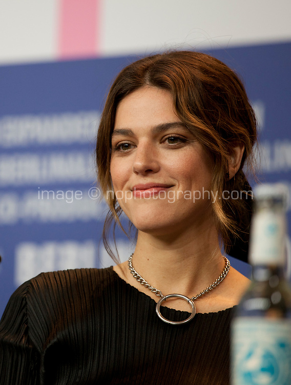 Actress Callie Hernandez at the press conference for the film One of These Days at the 70th Berlinale International Film Festival, on Saturday 22nd February 2020, Hotel Grand Hyatt, Berlin, Germany. Photo credit: Doreen Kennedy