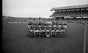 The All Ireland Senior Football Final.1982.19.09.1982.09.19.1982.19th September 1982..The senior final was contested between Offaly and Kerry. Offaly won the title by the narrowest of margins 1.15 to 17 points..The Kerry starting fifteen pose for pictures before the match.