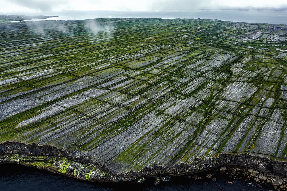 Dun Aonghasa at Aran Islands, Ireland