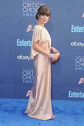 Jenny Cipoletti  bei der Verleihung der 22. Critics' Choice Awards in Los Angeles / 111216