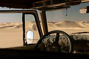 Offroading in the Sahara Desert near the Siwa Oasis, Egypt