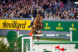 DEVOS Pieter (BEL), Espoir  <br /> Genf - CHI Rolex Grand Slam 2018<br /> Rolex Grand Prix<br /> 09. Dezember 2018<br /> © www.sportfotos-lafrentz.de/Stefan Lafrentz