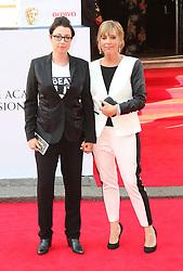 © Licensed to London News Pictures. 18/05/2014, UK. Sue Perkins; Mel Giedroyc, Arqiva British Academy Television Awards - BAFTA, Theatre Royal Drury Lane, London UK, 18 May 2014. Photo credit : Richard Goldschmidt/Piqtured/LNP