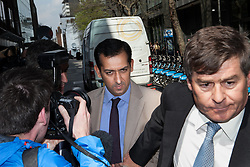 Top horse trainer CHARGED over steroid doping at Sheikh Mohammed's Godolphin stable as bookies forced to refund thousands. Mahmood Al Zarooni to face a British Horseracing Authority disciplinary panel in High Holborn, London, UK, April 25, 2013. Photo by: Daniel Leal-Olivas / i-Images