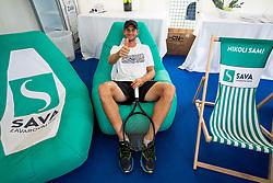 Blaz Rola of Slovenia during Day 9 of ATP Challenger Zavarovalnica Sava Slovenia Open 2019, on August 17, 2019 in Sports centre, Portoroz/Portorose, Slovenia. Photo by Vid Ponikvar / Sportida