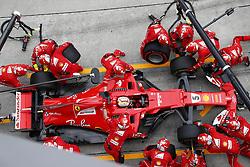 October 1, 2017 - Sepang, Malaysia - Motorsports: FIA Formula One World Championship 2017, Grand Prix of Malaysia, ..#5 Sebastian Vettel (GER, Scuderia Ferrari) (Credit Image: © Hoch Zwei via ZUMA Wire)
