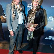 NLD/Zaandam/20190128- première musical Op Hoop van Zegen, Astrid Engels en partner