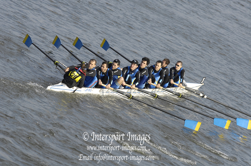 London, GREAT BRITAIN, during the Head of the River race on Sat 31.03.2007, Putney, [Photo Peter Spurrier/Intersport Images] , Rowing Course: River Thames, Championship course, Putney to Mortlake 4.25 Miles,