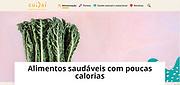Low calorie foods - Cuidai.com.br