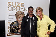 Suze Orman spoke with New York Public High School students about financial education. The talk took place at the High School for Economics and Finance in New York's Financial District. At the end of the talk, Suze Orman donated $25,000 of Scholarships and McGraw-Hill  matched  the donation. 'W!SE coordinates the Financial Literacy Now speakers bureau as part of the overall campaign that brought Suze Orman to NYC public schools. The event was sponsored by McGraw-Hill Corporation.
