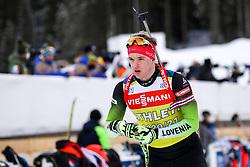 Alex Cisar of Slovenia during IBU Biathlon World Championships 2021 Pokljuka, on February 8, 2021 in Rudno Polje, Pokljuka, Slovenia. Photo by Matic Klansek Velej / Sportida