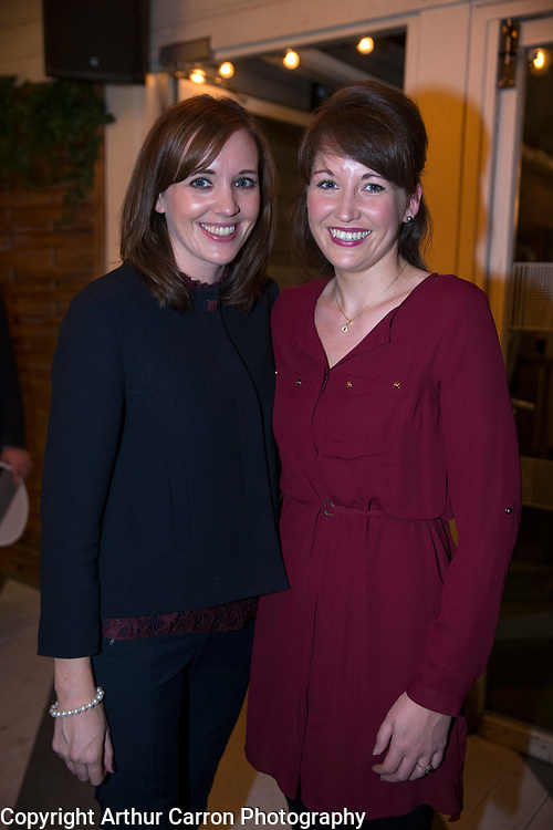 10/11/15 Anna and Sarah-Jane Phelan, Castleknock at the launch of Dennis Horgan's book Dubli-A View From Above, at House in Dublin. Picture:Arthur Carron