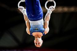 November 2, 2018 - Doha, Qatar - Igor Radivilov of Ukraine   during  Rings for Men at the Aspire Dome in Doha, Qatar, Artistic FIG Gymnastics World Championships on 2 of November 2018. (Credit Image: © Ulrik Pedersen/NurPhoto via ZUMA Press)